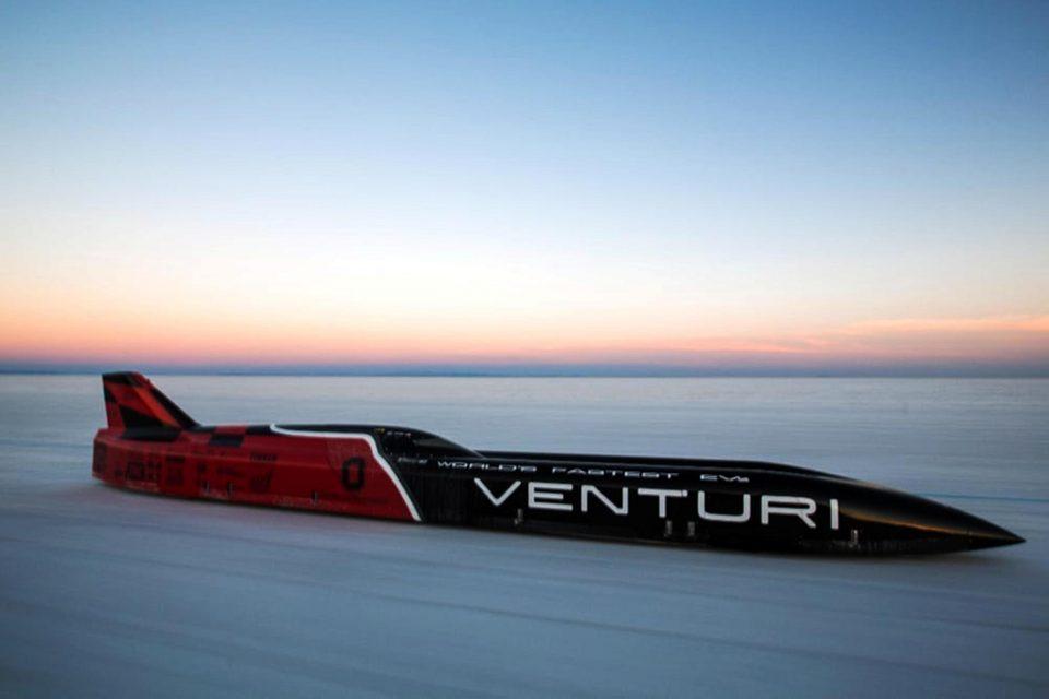 Neuer Weltrekord: 549,4 km/h rein elektrisch
