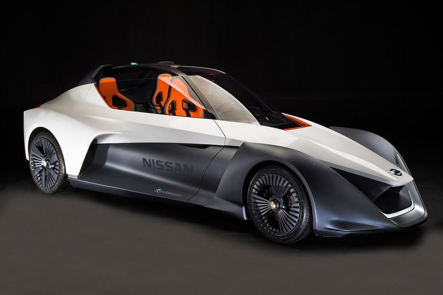 Nissan BladeGlider: Elektroflitzer für drei