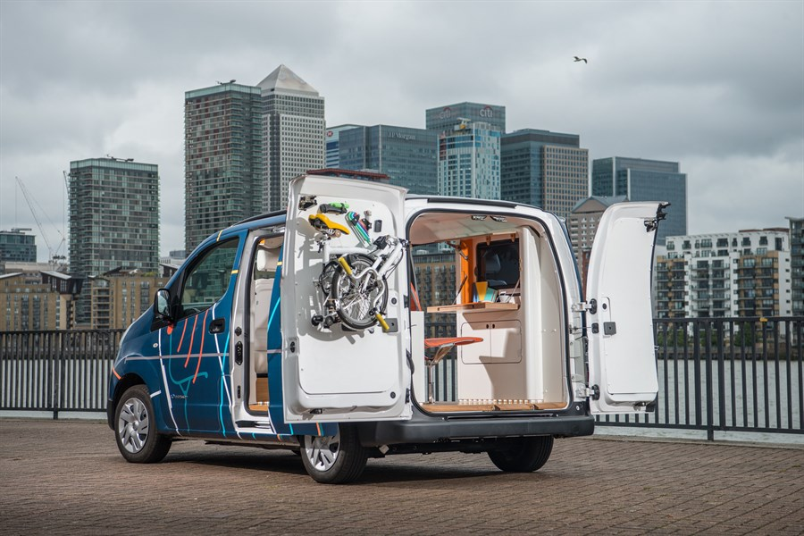 Das emobile Büro – Nissan e-NV200 WORKSPACe