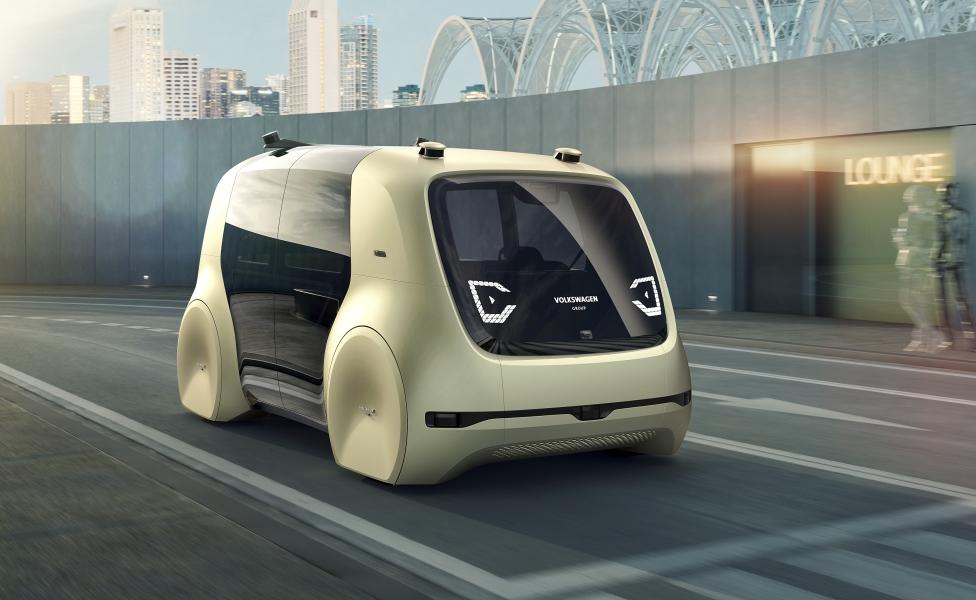 VW Sedric: Individuelle Mobilität neu definiert: Autonomes und elektrisches Fahren auf Knopfdruck (Bilder)