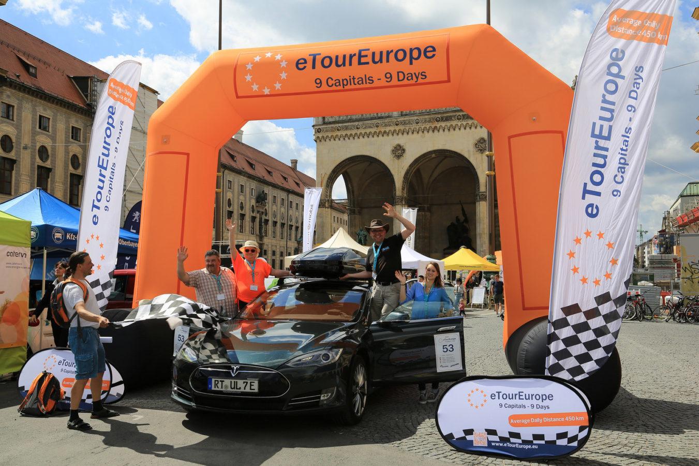 eTourEurope hat ihr Ziel erreicht