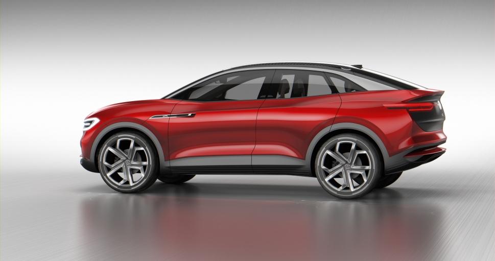 Volkswagen präsentiert zur IAA 2017 den elektrischen Crossover I.D. CROZZ