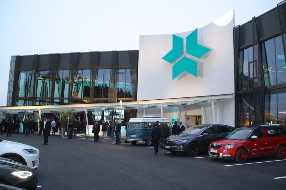 Eröffnung des neuen Forschungs- und Entwicklungszentrum von Kreisel Electric in Rainbach