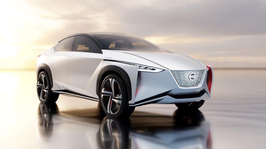 Nissan zeigt auf der Tokyo Motor Show 2017 vollautonomen IMx Concept
