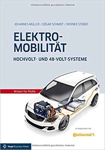 """Neues Fachbuch """"Elektromobilität"""" über Hochvolt- und 48-Volt-Systeme"""