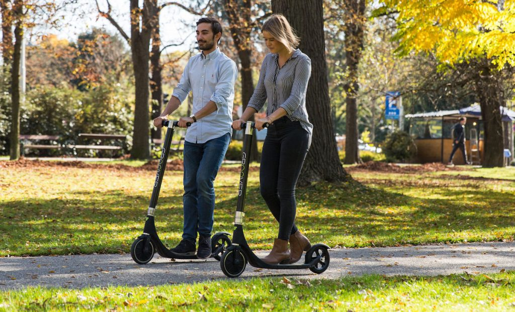 "Der GROOVER: Innovativer E-Scooter ""Made in Austria!"