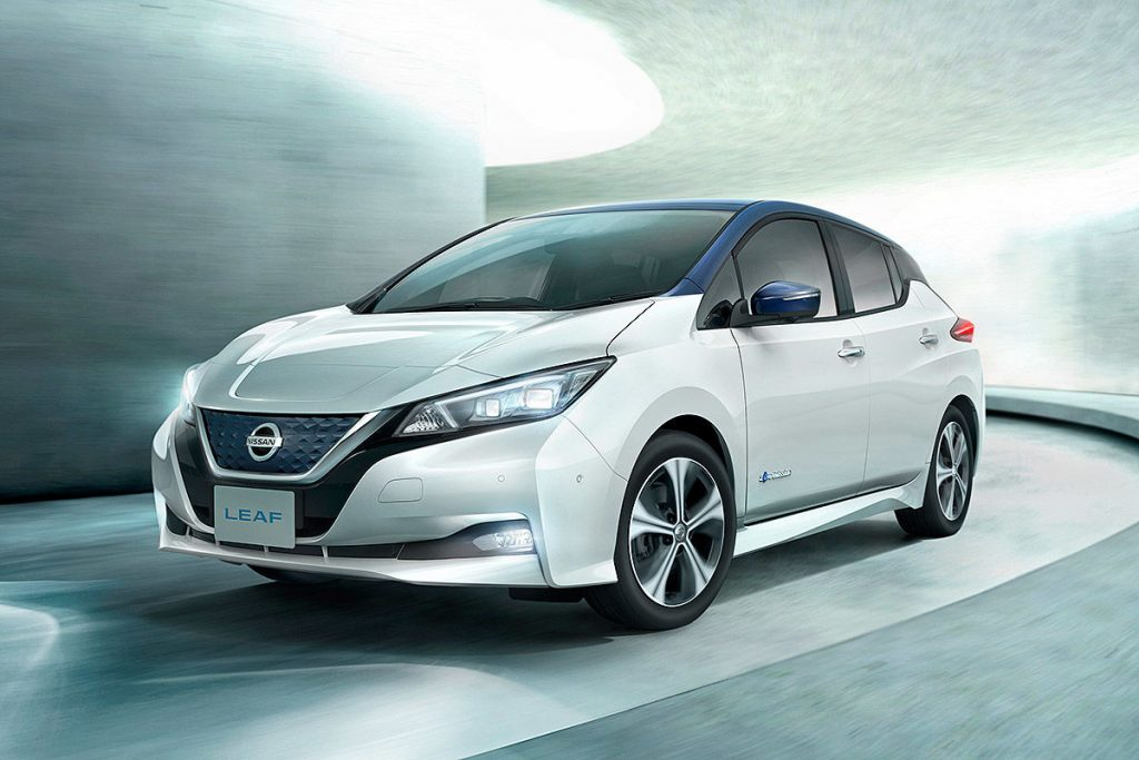 Full power for the electrification: 10.000 Pre-orders for the new Nissan Leaf
