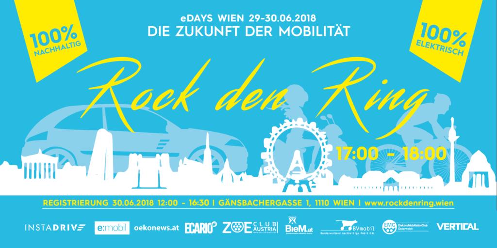 Ring frei für die ersten eDays in Wien am 29. und 30. Juni