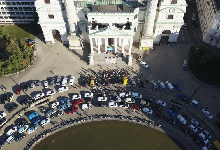 Über 150 E-Fahrzeuge haben den Wiener Ring gerockt: Das war Rock den Ring 2018