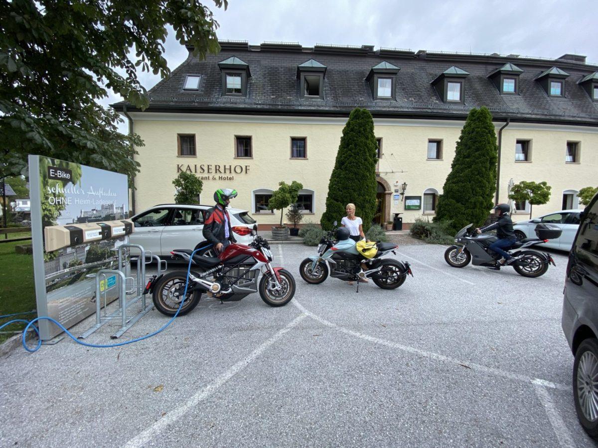 ZERO Elektromotorräder beim Kaiserhof