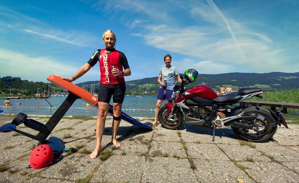 ZERO Motorcycles trifft elektrisches Hydrofoil