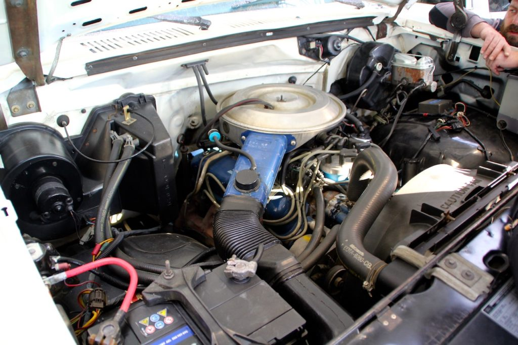 Motorraum V8 Ford F150