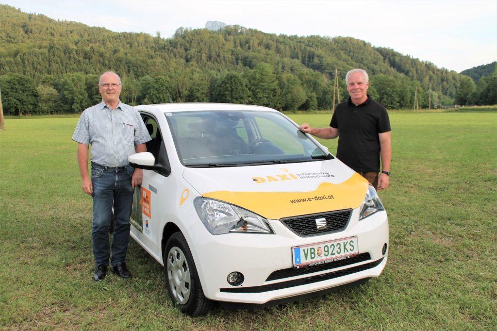 E-Daxi E-Carsharing in Innerschwand am Mondsee