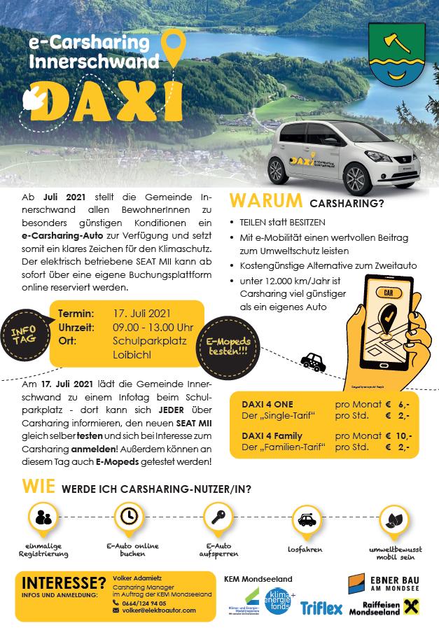 Infotag Carsharing